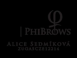 Alice Sedmíková logo Phibrows